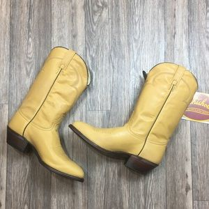 NWT J. Chisholm Handcrafted Western Cowboy Boots